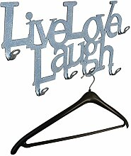 Live Love Laugh - Wandgarderobe - Flurgarderobe