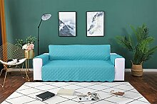 Liveinu Sofaüberwurf mit Rutschfest Sesselschoner