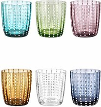 Livellara Carnival Glas. Elegantes 6-er Set