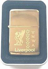 Liverpool Liver Bird 5 Star Liverpool Gold Benzin