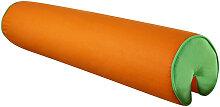 Livetastic NACKENROLLE , Grün, Orange, 16x16x80 cm
