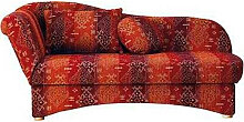 Livetastic RECAMIERE Webstoff Rot , Buche,