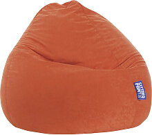 Livetastic SITZSACK Mikrofaser Orange , 300 L,