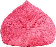 Livetastic SITZSACK Plüsch Uni Pink , 220 L, 110
