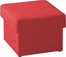 Livetastic SITZWÜRFEL Rot , 55x45x55 cm