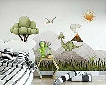 LIVEXZ DIY,3d baum dinosaurier tapete wandbild