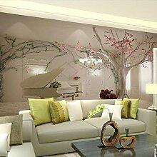 LIVEXZ DIY,3D Fototapeten Tapete Für Wohnzimmer