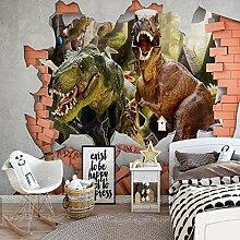 LIVEXZ DIY,3d Wallpaper Dinosaurier Tapete