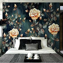 LIVEXZ DIY,Europäische Schlafzimmer Tapete 3d