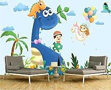 LIVEXZ DIY,Handgemalte Dinosaurier-Tapete 3d