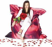 Living Design Sitzsack von Showtex (Red Rose)