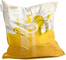 Living Design Sitzsack von Showtex (Sparkling Yellow)