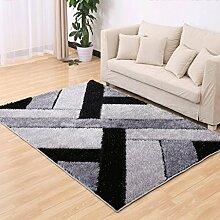 Living Room Sofa Coffee Table Carpet, Bedroom Carpet, Environmental Comfort, Carpet Size: 120 * 170cm