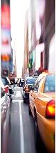 living walls Fototapete Yellow Cab New York City,