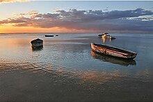 Livingwalls Fototapete Meer Strand Mauritius 4.00