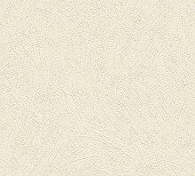 Livingwalls Tapete 191151 Creme Uni & Einfarbig -