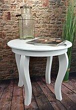 Livitat® Beistelltisch Couchtisch Tisch rund Ø50