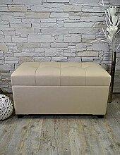 Livitat® Flurbank Sitzbank Sitztruhe B80 x T37,5