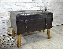 Livitat® Hocker Polsterhocker Suitcase Pouf Truhe