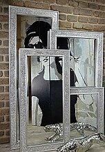 Livitat® Wandspiegel 90 x 60 cm Spiegel Mosaik