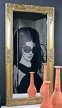 Livitat® Wandspiegel Spiegel barock antik Gold