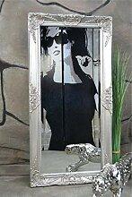 Livitat® Wandspiegel Spiegel barock antik Silber