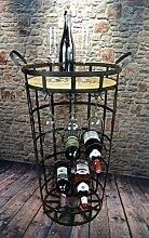 Livitat® Weinregal Weinschrank H75 cm Hausbar