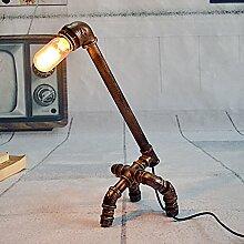 LIVY American Retro-Lampe Industrie Wind Rohr Lampe kreative Persönlichkeit Restaurant Loft Schmiedeeisen Metall dekorative Wandbeleuchtung