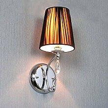 LIVY Chinesische moderne Zeichnung Lampe Nachttischlampe nordamerikanische kontinentale kreative Retro-Wohnzimmer Wandleuchte