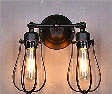 LIVY Europäischen Mittelmeer double Wandleuchte LED Lampe Leuchte ist geeignet für Wohnzimmer restaurant Industrie spannung AC 90-260V