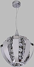 LIVY Indoor-Anhänger Edelstahl Einkristall Lampe Höhle Bar Restaurant Geschäfte Friseursalons loft Lampe