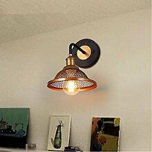 LIVY-Kreativ im Loft-Stil Wohnzimmer Esszimmer Schlafzimmer Wand Lampe Eisen bars industrielle Windschatten Persönlichkeit Wandleuchte