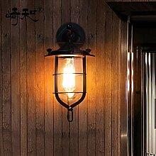 LIVY Nordischen Einfachheit amerikanisches Land Wand retro Wand Lampe kreative Persönlichkeit Industrial wind einzigen Kopf indoor Wandleuchte