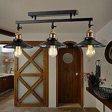 LIVY Vintage retro Lampe Wand Lampe Schlafzimmer Esszimmer Wohnzimmer Deckenleuchten und drei der Studie Lampe