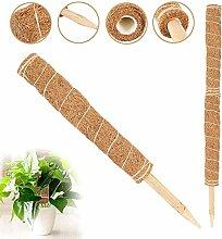 LIWEIXKY Kokos-Rankstab,Coir Totem Pole Moss Stick