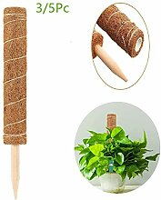 LIWEIXKY Kokos-Rankstab,Pflanzenunterstützung