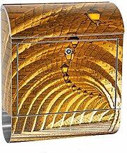 liwwing Briefkasten Edelstahl mit Motiv und