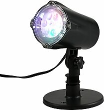 lixada 4LED Landschaft Projektorlampe,
