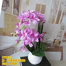 LIXIAOXIN Simulation False Butterfly Orchid Set