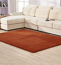 LIXIONG Anti-Blockier-System Rechteckige Teppich für Wohnzimmer, Kaffee, Tisch, Sofa, Schlafzimmer, Bettvorleger, 0.65-1.4m * 1.6-2.0m Teppiche, Rutschfester Fußpolster ( Farbe : L , größe : 1.4*2.0m )