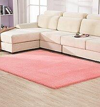 LIXIONG Anti-Blockier-System Rechteckige Teppich für Wohnzimmer, Kaffee, Tisch, Sofa, Schlafzimmer, Bettvorleger, 0.65-1.4m * 1.6-2.0m Teppiche, Rutschfester Fußpolster ( Farbe : H , größe : 1.2*1.6m )
