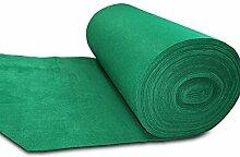 LIXIONG Einweg-Teppich Begrüßungszeremonie Verdickung Teppich von grünem Gras Hintergrund Stützgewebe , stellt T die Bühne Teppich Ausstellung 3mm Dicke Rutschfester Fußpolster ( größe : 2.0*20m )