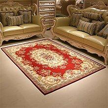 LIXIONG Europäische Stil Teppich Wohnzimmer