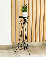 LIXIONG European Style Blumenrahmen Indoor Wohnzimmer Blumen Regal Hanging Orchidee Floor Floor Single Flower Pot Rack Hochwertige Blume ( Farbe : C , größe : 120cm )