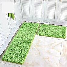 LIXIONG Küche Teppich Fußmatte Wohnzimmer