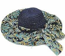 LIXIONG Sun-Hut-Damen-hohler Sommer-Sun-Sun-Hut Sonnenschutz-Sonnenhut-Sonnenschutz-Sonnenschutz-Hut Leben im Freien Hut (Farbe : C)
