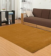 LIXIONG Teppichboden- Einfache moderne Teppich Wohnzimmer Schlafzimmer Anti-Rutsch-verdickte Teppich Rutschfester Fußpolster ( Farbe : G , größe : 160*230cm )