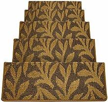 LIXIONG Treppenmatten Teppich Treppen Haushalt