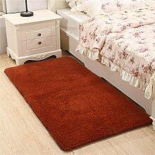 LIXIONG Verdickung Waschbarer Teppich Schlafzimmer