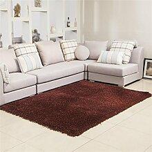 LIXIONG Wohnzimmer Couchtisch Teppich Einfach und